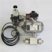 防爆气动球阀(高压)CNG天然气高压焊接气动球阀