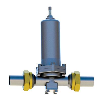 焊接不锈钢调压阀,OYS25低温升压调压阀